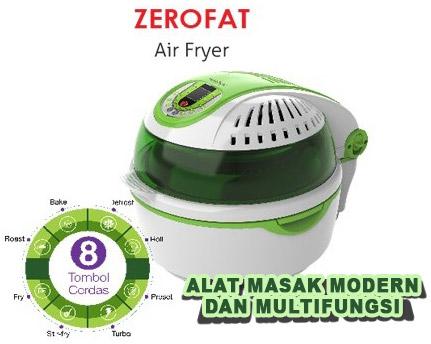 alat masak zero fat air fryer