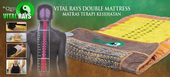 jual matras kesehatan terapi batu giok dr qyu vital rays