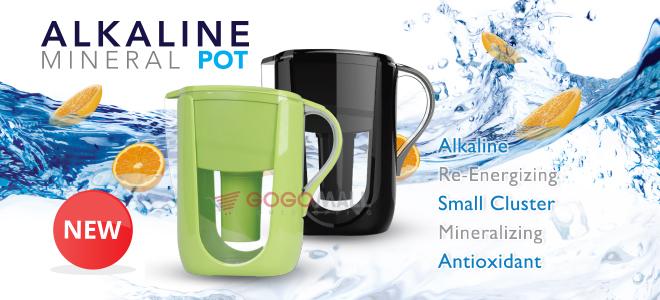 Alkaline Mineral Pot: Pengubah Air Minum Biasa Menjadi Air Alkali