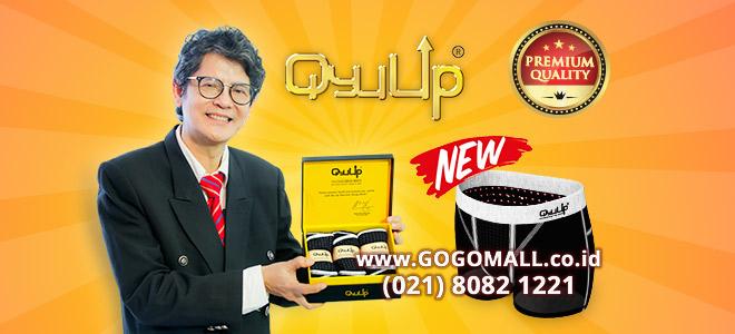 Qyu Up Premium, Celana Dalam Terapi Fisiologis Pria