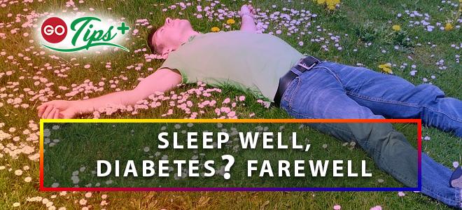"""GO-Tips:  """"Tidur"""" Bersama Diabetes"""